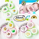 SLEMON Mückenschutz Schnalle Mückenschutz Badge Button Mückenschutz Clip Kinder Baby Schwangere Frau DEET-freier 90 Tage