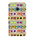 This is Durable 3D Multicolour Specs,Grey,Bollyball Pattern,Amazing Pattern,Designer Case made up of Hard Polycarbonate Plastic and This Case is very much safe for your HTC M7 :: HTC One M7.This is Durable 3D Multicolour Specs,Grey,Bollyball Pattern,...