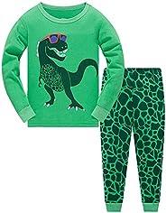TEDD Pigiama Ragazzo Dinosauro Cotone Lungo Pyjama Sets Vestiti Bambino Invernale Due Pezzi Impostato Natalizi