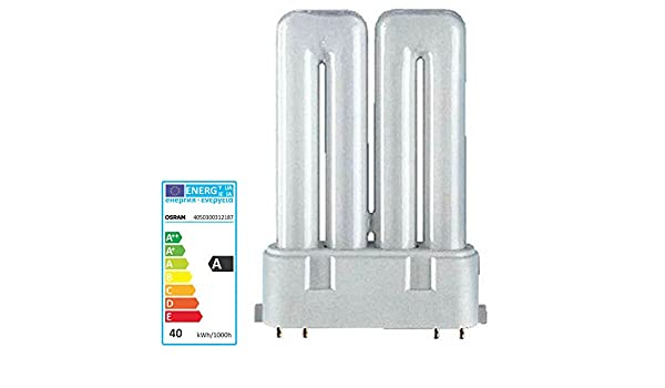 Osram Kompaktleuchtstofflampe Dulux F 36 Watt 840 4-Stiftsockel 2G10 neutralwei/ß 36W