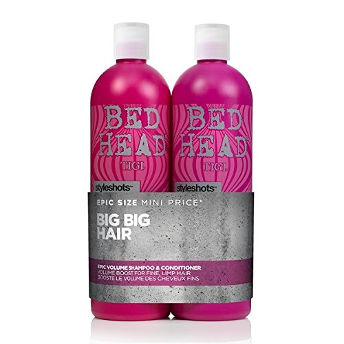 Tigi Bed Head Style Shots Epic Volume Tween 750 ml – Lot de 2