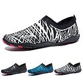 Madaleno Chaussures Aquatiques Homme Femme Chaussures d'eau Chaussures de Plage Chaussures de Yoga Plongée Surf Piscine...