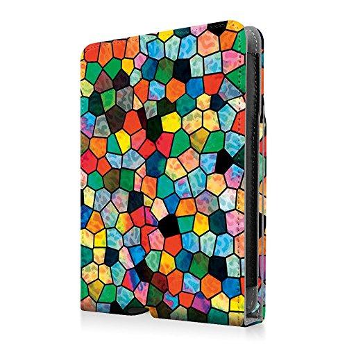 Fintie Etui Amazon Kindle Paperwhite - étui de Retournement Vertical, fermeture magnétique avec mise en veille automatique pour Amazon All-New Kindle Paperwhite (Convient à touts les versions: 2012, 2 Z -Mosaic