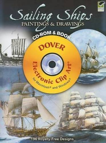 Sailing Ships Paintings & Drawings (Dover Electronic Clip Art)