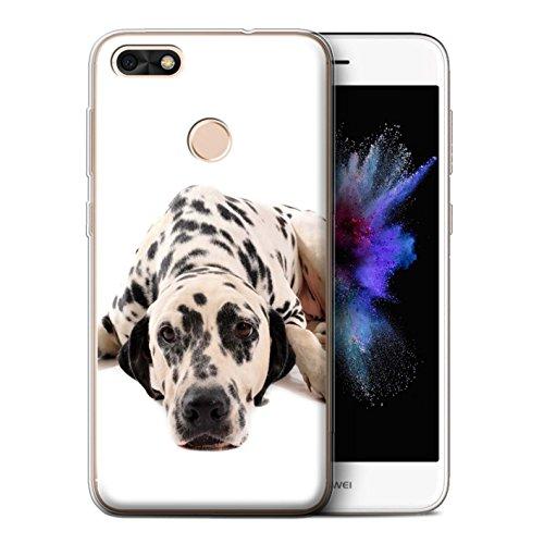 lle/Case für Huawei P9 Lite Mini/Dalmatiner Muster/Hund/Hunde Kollektion ()