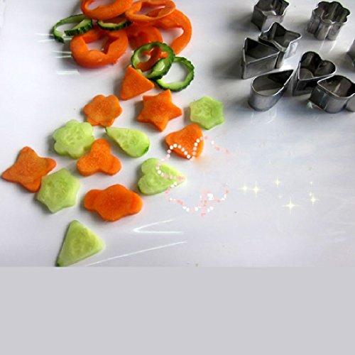 Alimentaire en acier inoxydable légumes gâteau Cutter moule à fromage outil moule Mini Home
