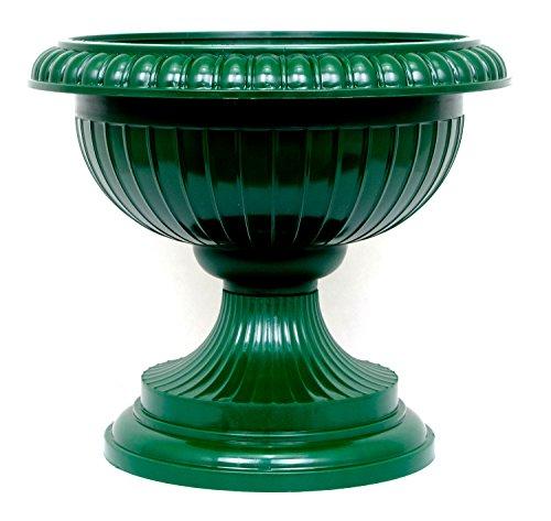 Pflanzkübel Blumenspindel Pflanzschale Euro 41cm Grün
