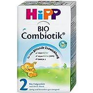 HiPP 2 Combiotik bio le lait de suite 4 Pack (4 x 500g)