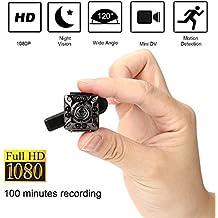 SQ10 1080P Mini cámara 12.0MP IR cámara de visión nocturna Mini cámara DV pequeña cámara de inicio Cámara de vigilancia de seguridad doméstica Full HD Mini ...