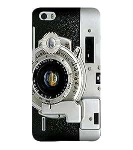 Takkloo Digital Camera ( Dialer of Camera, Lens of Camera, nice camera, Black camera) Printed Designer Back Case Cover for Huawei Honor 6