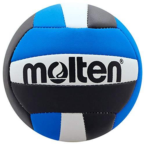 Molten Mini Volleyball, Unisex, Jugendliche, V200-BLK/BLU, schwarz/blau