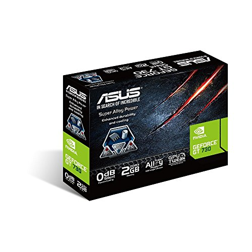 Asus VGA GT730-2GD3-BRK NVIDIA Grafikkarte (PCI-e - 5