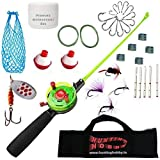 Hunting Hobby Mini Ice Fishing Rod,Reel,Accessories Complete Kit