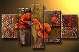 decorazione natalizia Immagine casa DekorationenMural rimless mano dipinto olio riproduzione dipinti - HJ-HOME - amazon.it