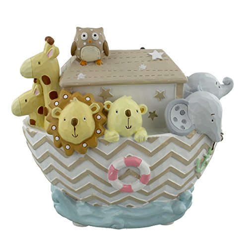 Noah's Ark Resin Money Bank - Boat