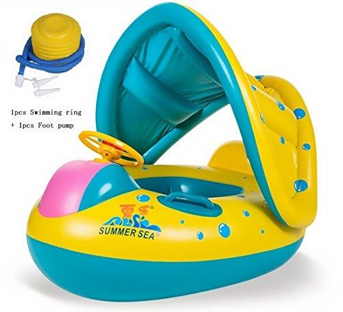 Baby Schwimmen Float Kinder Aufblasbare Schwimmen Wasser Float Schwimmen Ring Mit Einstellbar...