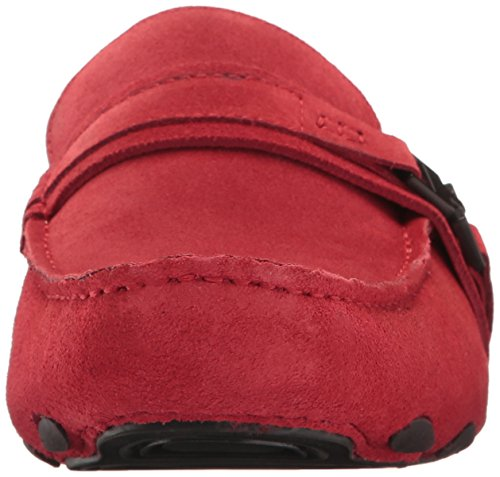 Kenneth Cole Reaction Toast 2 Me Leder Slipper Red
