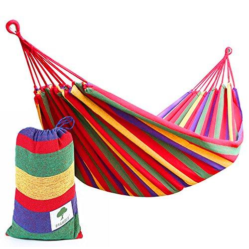 Bramble Hamac de Voyage Respirant Portable Idéal pour Camping, Activités En Plein Air, Jardin - Charge Poids Maxi 150kg