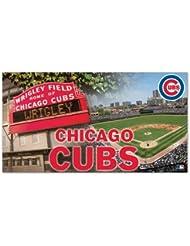 Wincraft Tapis Motif Chicago Cubs Wrigley Field Tapis de baseball MLB