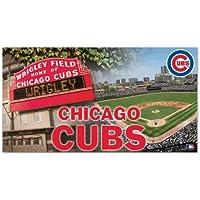 WinCraft Chicago Cubs Wrigley Field Baseball MLB Teppich