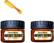 Hair Detoxifying Nourishing Mask Advanced Molecular Hair Roots Treatment Split-Ends Deep Elasticity Softness Recover Dry Curl