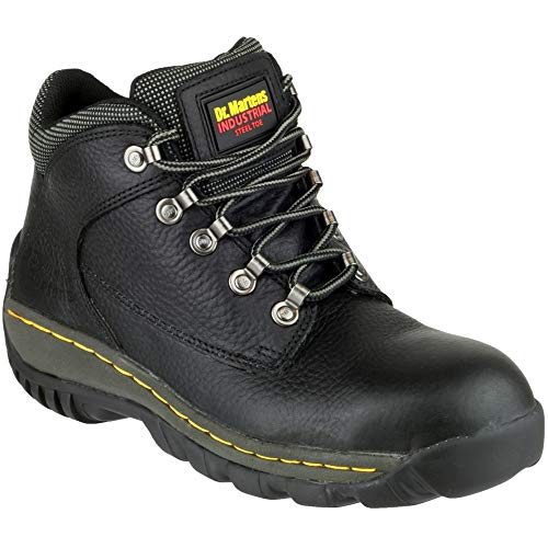 Dr. Martens Mens Chukka Safety Work Boots Black Safety Chukka Boot