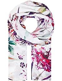 HALLHUBER Silk scarf with floral print