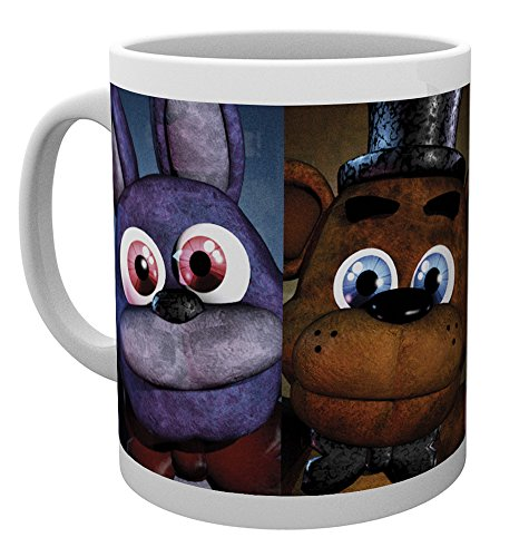 GB eye Five Nights At Freddys, Faces, Mug
