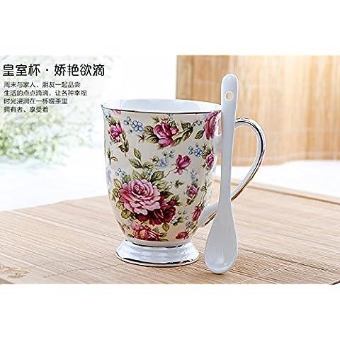 Tazas de cerámica creativa minimalista parejas mug taza de porcelana china de la taza de café taza de leche tazas de desayuno