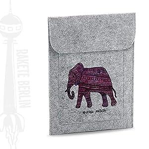 Tablet Filzhülle 'Elefant – Hakuna Matata'