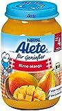Alete - Bio Birne-Mango Babybrei Babykost Bio Babynahrung - 190g