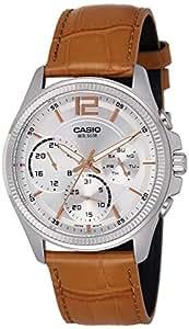 Casio Enticer Analog White Dial Men's Watch - MTP-E305L-7A2VDF (A1076)