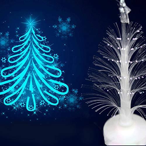 Ballylelly-Luminous Romantic Acryl Weihnachtsbaum LED-Licht Valentine 'Day Night Club Party Weihnachtsfeiertage dekorative Lampe Licht von