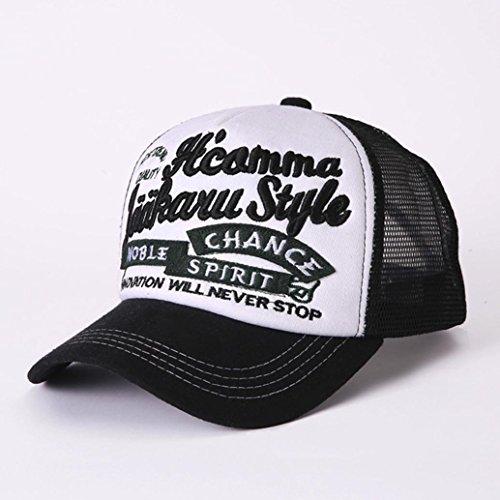 Imagen de ❤️ ,btruely herren sombrero hip hop  beisbol  para hombre mujer sombreros de verano  de camionero de hip hop impresión bordada talla única negro  alternativa