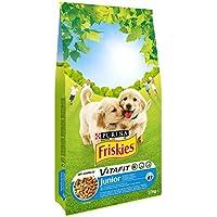 Friskies Vitafit Junior : au Poulet, avec du Lait et des Légumes Ajoutés - 10 KG - Croquettes pour Chiot