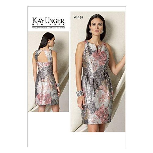 Vogue Patterns 1481e5 Tailles 14–22 Patrons/petite robe