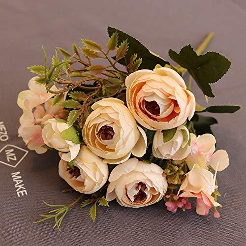 Blumen, Diamanttee, Tee, Rose, Fabrik, Großhandel, dekorative Blume, Blume, Foto, Fotografie, Requisiten, gefälschte Blumen, Hellrosa Frühlingstee ()