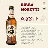 Bier Moretti -klein- (05 Flaschen à 0,33 Lt) -Birra aus Italien-