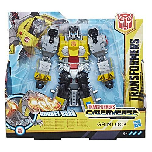 Hasbro Transformers E1908ES0 - Cyberverse Action Attackers Ultra Figur Grimlock Roboter-Actionfigur (Figur Grimlock)