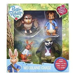 Peter Rabbit – Woodland Chase – Jeu de Société Pierre Lapin Version Anglaise (Import UK)