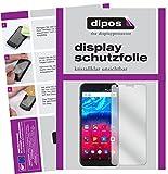 dipos I 2X Schutzfolie klar passend für Archos Core 60S Folie Displayschutzfolie