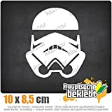 Stormtrooper - Sturmtruppen 8,5 x 10 cm IN 15 FARBEN - Neon + Chrom! Sticker Aufkleber