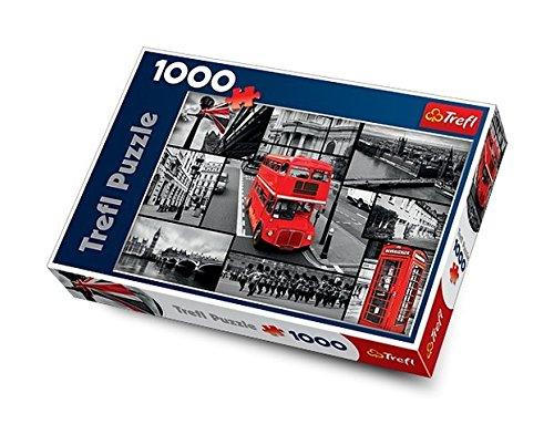 Trefl 10278 -  Collage Londra - Puzzle 1000 pezzi