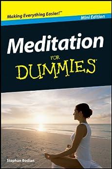 Meditation For Dummies®, Mini Edition von [Bodian, Stephan]