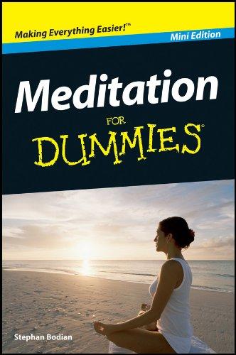 Meditation For Dummies®, Mini Edition (English Edition) par Stephan Bodian