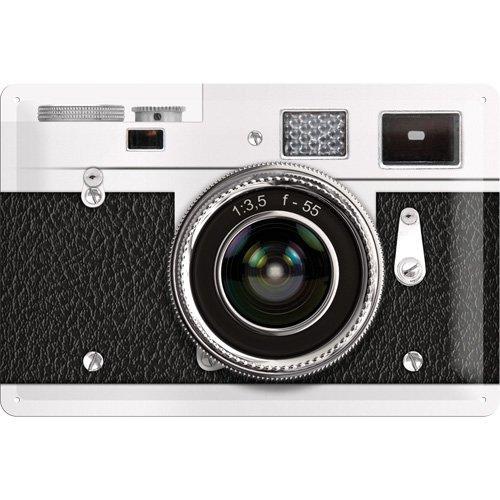 Nostalgic-Art 22197 Retro Wave - Retro Camera, Blechschild 20x30 cm