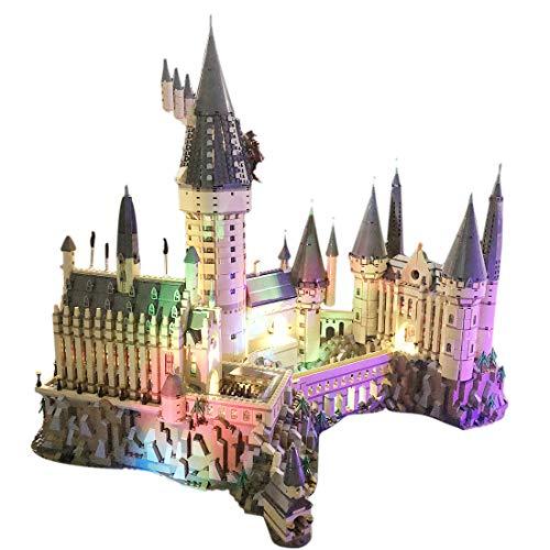 Poxl LED Beleuchtung Für Harry Potter Schloss Hogwarts Modell - LED Licht Set Led Licht kit Kompatibel Mit Lego 71043 - Modell Nicht Enthalten (Lego-harry-potter-kits)