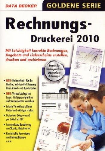 Rechnungsdruckerei 2010