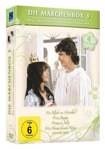 Die Märchenbox 3 - Die schönsten tschechischen Märchen (Ein Klecks ins Märchen, Prinz Bajaja, Prinzessin Julia, Wie Honza beina