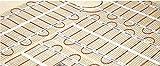 Elektrische Fußbodenheizung Devimat Dünnbettset Touch Thermostat 150 Watt / m² , Set:1-375 W / 2.5 m²